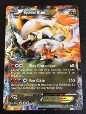 Carte Pokemon KYUREM BLANC 103/149 Holo EX Noir et Blanc Française NEUF