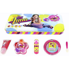 Disney Soy Luna Kids Girl`s Make Up With Beauty Tin Collection Gift Set