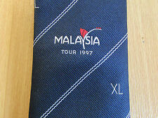 Forty Club XL Malaysia Tour 1997 CRICKET Club Tie - SEE PICTURES