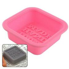 100% Silicone Cake Mold Handmade Soap Mold for Candy Chocolate Cupcake Cube