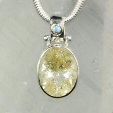 Halsketten und Anhänger mit echten Edelsteinen mit Mondstein natürliche