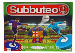 BARCELONA OFFICIAL LICENSED SUBBUTEO BOX SET. TABLE SOCCER. TABLE FOOTBALL