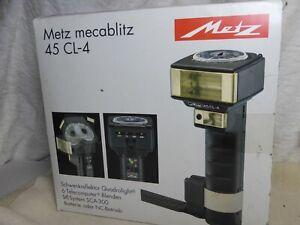 Metz 45 CL-4 Swivel TTL Bounce Hammer Head Flash for Hasselblad Mamiya Bronica