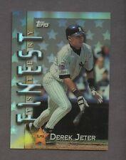 1997 Topps Finest Mystery Refractor #ILM6 Derek Jeter New York Yankees