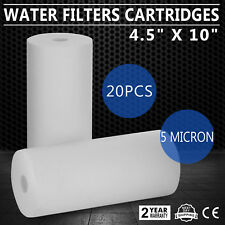 20 Pack Water Filter Cartridges Fine Chemicals 10 X 4.5 Inch Filters CA Stock