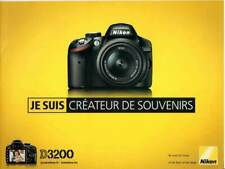 NIKON brochure pub. D3200 édition 05/2012/A. en français