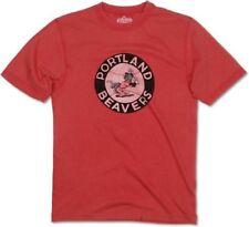 Portland Beavers Minor League Vintage Logo T-Shirt by Red Jacket