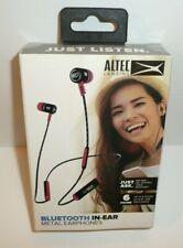 Altec Lansing Bluetooth In-Ear Metal Earphones Voice Assistant Music Headphones