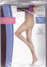 PHILDAR MYRIADE - COLLANT NYLON MOUSSE 20 DEN FIN & MAT - MARRON - T. 1/2