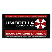 HUGE Umbrella Corp Resident Evil Bath Towel Hive Racoon City T Virus Movie Film