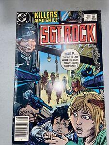 Sgt Rock #391 August 1984 DC Comics