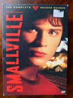 Smallville Stagione 2 Box DVD Set Dc Universe Superman Serie TV Regione 1