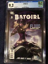 Batgirl #9 Artgerm Cover DC Comics 2010 CGC 9.2