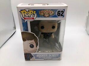 Booker DeWitt #62 POP! Vinyl Figure Near Mint POP Vinyl Figures HT1