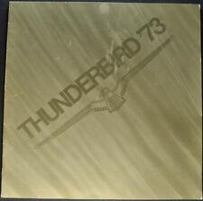 1973 Ford Thunderbird Catalog Brochure Landau Nice Original 73 T-bird Canadian