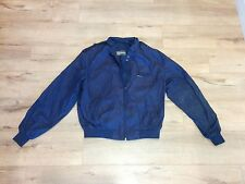 Members Only Cafe Racer Jacket Navy Blue Mens Size 46L vintage windbreaker