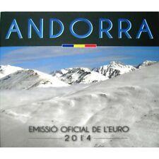 **Andorra  - BU SET 2014  - 0,01  -- 2 euro / 8 munten** - In Stock! Schaars!!