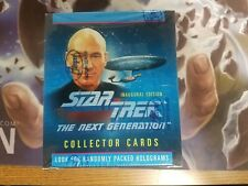 1992 Star Trek Next Generation Trading Cards Booster Box Factory Sealed Impel