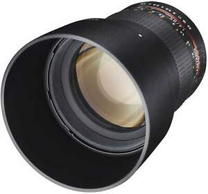 Samyang 85mm F1.4 UMC II Sony FE Full Frame Camera Lens