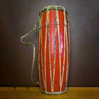 17 inch Madal-Nepalese Drum - Red