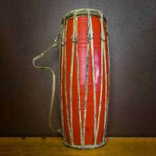 17 inches Handmade Nepalese  Madal Nepali Musical Instrument Wooden and Leather