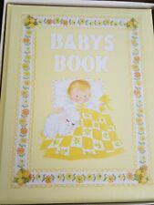 Vintage Baby Book - Our Baby's First 7 Years -C.R. Gibson/Dolli Tingle- Nib 70's