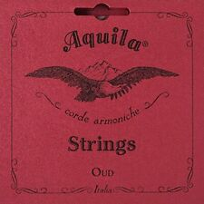 Aquila Oud Strings Arabic Tuning 11 Strings - Model 130 Red Nylgut