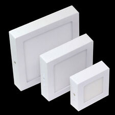 SQUARE CEILING SURFACE MOUNTED LED PANEL LIGHT DOWNLIGHT DIMMABLE IP66 OPTION