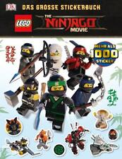 THE LEGO® NINJAGO® MOVIE Das große Stickerbuch von Julia March (2017, Taschenbuch)