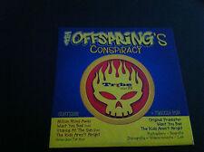 The OFFSPRING's Conspiracy cd Promo Audio 4 tracks + Cd-Rom video photos punk