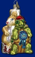 Old World Christmas Owc Glass Ornament, Tortoise & Hare