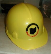 Ohio Laborers Union Kimberly Clark Yellow Hard Hat Helmet Safety Gear Kc #14864