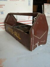 VINTAGE SIMONSEN, CHICAGO METAL TOTE-ALL TOOL CARRIER