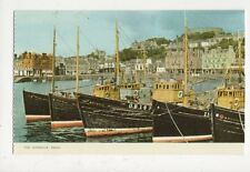 The Harbour Oban Old Postcard 484a