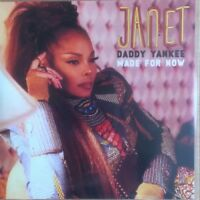 "Janet Jackson Ft Daddy Yankee ""Made For Now"" Rare 4 Remix Brand New Cd Promo"