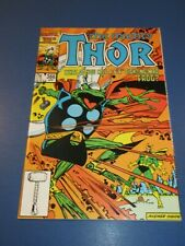 Mighty Thor #366 1st Throg Key VF+ Beauty Wow