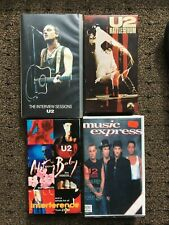 U2 VHS, 4 tapes rare