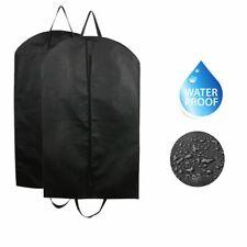 2Pcs Suit Travel Bag Garment Bag Long Dress for Hanging Clothes Carrier Cover US