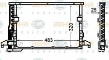 Condenser Air Conditioning 8FC351305-071 / AC 512 000S 70816526 by Behr