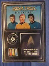 STAR TREK the card game CCG LOT (1deck4booster) factory sealed Fleer / Skybox