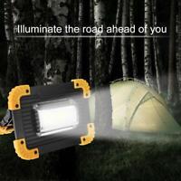 30W COB LED Akku Strahler Arbeitsleuchte Baustrahler Flutlicht Camping Handlampe