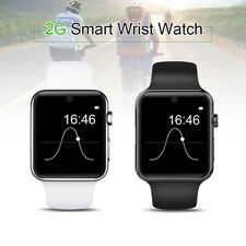 DM09 Bluetooth 2.5D GSM Smart Wrist Watch Phone Sleep Monitor For Smartphone IOS