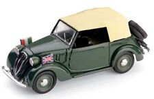 BRUMM R86 FIAT 508C 1100 CABRIOLET HP32 diecast road car with cream roof 1:43