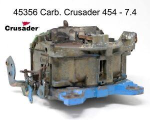Crusader 45356 Rochester 4 BBL Marine Carburetor Crusader 350 HP 454