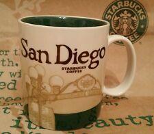 Starbucks Coffee City Mug/Tasse/Becher SAN DIEGO, Global Icon,NEU m.SKU-Sticker!