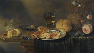 Alexander Adriaenssen A Still Life with Roses, a Jug Giclee Canvas Print