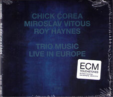 Chick Corea trio Music Live in Europe Miroslav Vitous Roy Haynes ECM CD The Loop