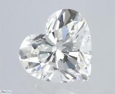 Heart Shape Cut Natural Loose Diamond 100% Real 1.00 Carat F SI2 GIA Cert