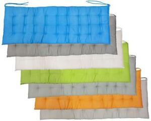 Bankauflage Bankkissen 120 oder 150 cm x 40 cm Kissen