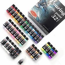 Acrylic Pouring Paint of 36 Bottles Complete Paint Pouring Kit 32 Assorted Color
